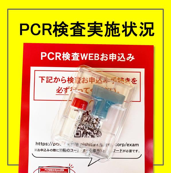 PCR検査状況